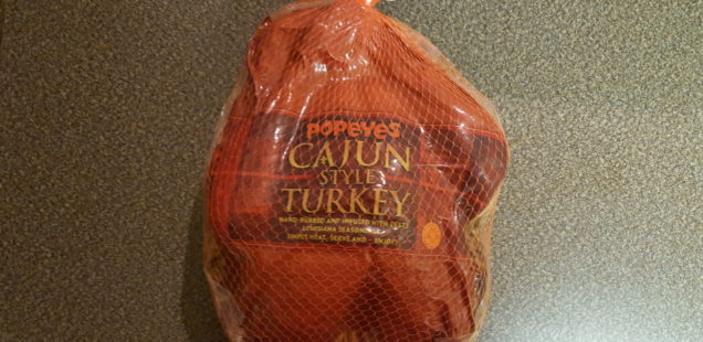 Popeyes Turkey: A Review